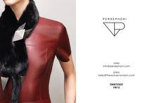"""PERSEPHONI """"EMBOSSED"""" AW15 COLLECTION"""
