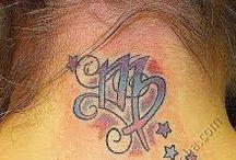 Татуировки знаки зодиаки