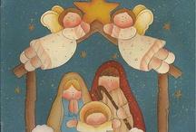Diseños para Pintura Country Navidad