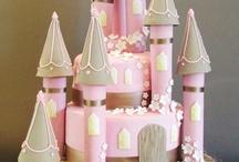 Tartas de castillos y princesas