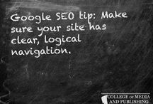 SEO tips / Handy SEO tips from distance learning course provider, the College of Media and Publishing.