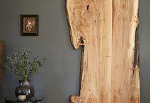 Drevo-stul-dvere