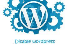 Disable Wordpress Backend