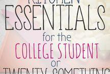 moving/college essentials