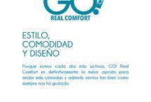#GO Real Comfort / Porque somos cada día más activas, GO! Real Comfort es definitivamente la mejor opción para andar más cómodas y además vernos tan bien como siempre nos ha gustado.