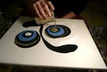Fluid Acrylic Painting: