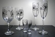 Sharpie wine glasses
