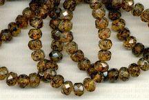 Rondells 9x6 mm / Original Czech Glass Beads:  http://www.beadsczech.com/rondells-mm.html