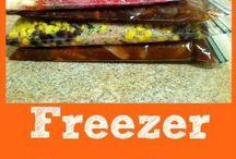 Freezer meals/ Food storage