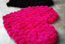 alfombras pompom