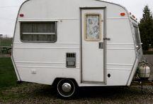 Sprite 400 Caravan Renovation / making our 1970's Sprite Travel Trailer spiffy!