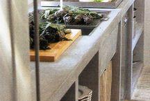 home: industrial modern kitchen / by Circa Dee