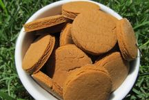 Gluten-Free Dog Treat Recipes / At TripsWithPets.com, we're all about traveling with your pets...and that includes bringing along some healthy gluten-free dog treats.  Remember to visit us to book pet friendly accommodations. / by TripsWithPets.com