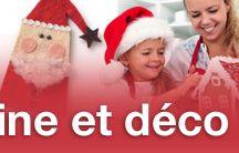 Cuisine et déco de Noël / Atelier biscuits de Noël Bricolage et décoration de Noël Douceurs de l'avent Bûche de Noël