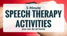 Homework Speech Therapy