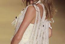 FIO Tecido  verão / moda feminina verão  em trico handmade