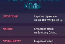 Коды Андроида