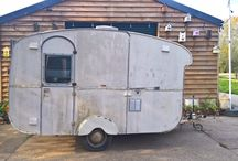 Gloria / Gloria is a 1960's vintage caravan, owned by the lovely Helen of Sun And Moon Juice.