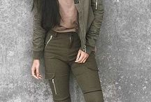 fashion~ olive tones