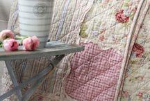 vintage rose quilt