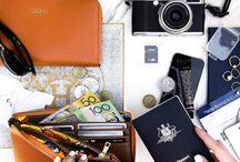 TRAVEL ESSENTIALS / Flat Lays of Travel Essentials