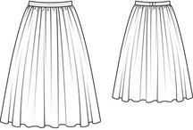 | fashion technical drawing |