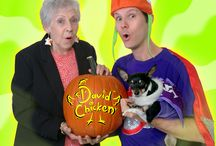 David Chicken Halloween / A big family-friendly BOO to your and your family!