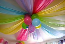 Outdoor summer birthday party decorations