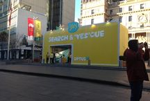 Search and 'Yes'cue / We're 'yes'cuing people around Australia!