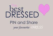 Best dressed / Pin your favourite dresses here  **** If you would like an invitation to contribute and pin to this board, please email your Pinterest name to  info@aurza.com