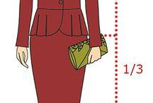 Пропорция в одежде
