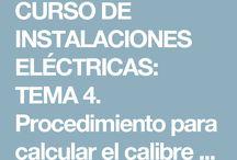 INSTALACONES ELÉCTRICAS