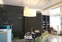 UVEC / name: UVEC Viaggi  Location: Trieste, Italy Client: UVEC Viaggi  Type: Interior Refurbishment, Interior Design, Graphic Design for Travel Agency  Status: built Year: 2014