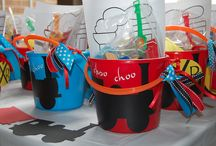 Noah's 3rd Birthday Party Ideas / by Brittany Manley