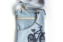 Bicycle pouch - shoulder bag