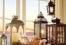 Window Ledge Decor Ideas / Ideas for window sill dressings