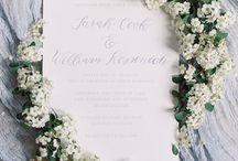 WEDDING INVITATION INSPIRATION / Invitation inspiration for the Emily Rose Ink bride.