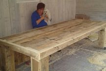 Steiger houten tafel