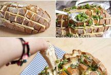 paine cu cascaval la cuptor