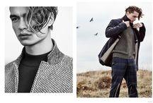 Outdoor fashion editorials