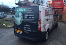 Vehicle Graphics / Some work from our in house Graphics and Signs Department at Mobile Solutions