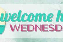 Welcome Home Wednesdays Link Party / The best pins and features from our Welcome Home Wednesday Link Party!