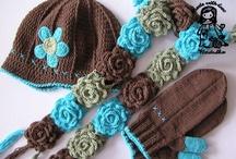 Bufandas...gorros...y guantes / by Sandra Pochón