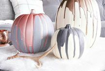 {Home} Fall Decor / Decorating for the fall | Cute home decor ideas for Halloween, Thanksgiving and the harvest season