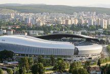 Iluminat LEDCO - Pista de atletism Cluj Arena