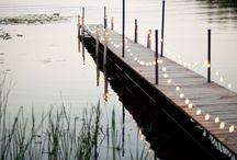 Sommerhus ved vannet