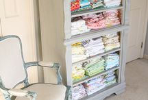 Craft Room Storage / Craft room organization, craft room storage, organization ideas, craft room ideas, craft room decor