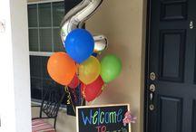 David's 2nd birthday party