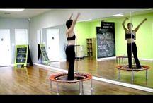 Danse trampoline