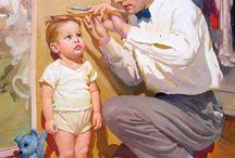 Dad stencil